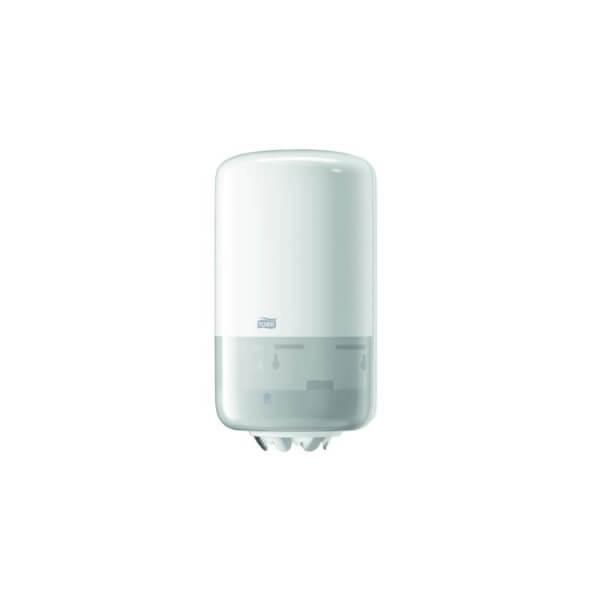 Distributeur pour mini bobine à dévidage central tork Blanc