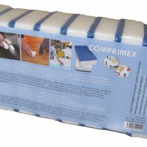 Éponge COMPRIMEX DUO 10 pièces pack