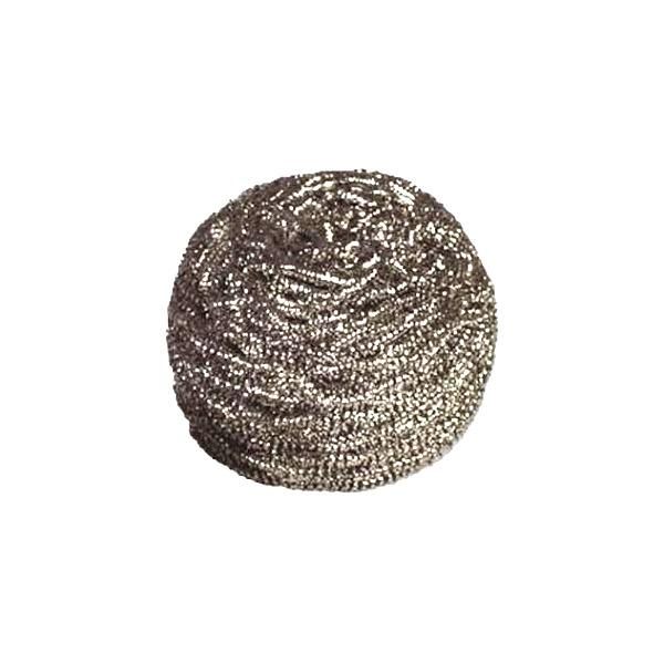 Éponge métallique spirale inox 40g