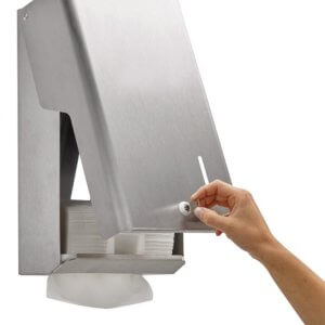 Distributeur essuie-mains 400 feuilles