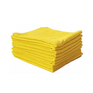 Lavette Tricot Soft 40 x 40 cm jaune