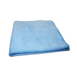 Microfibre Tricot Luxe 40 x 40 cm bleu