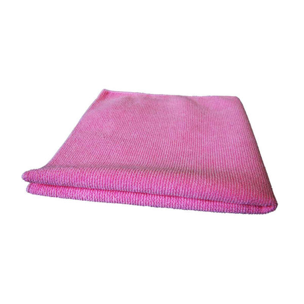 Microfibre Tricot Luxe 40 x 40 cm rose