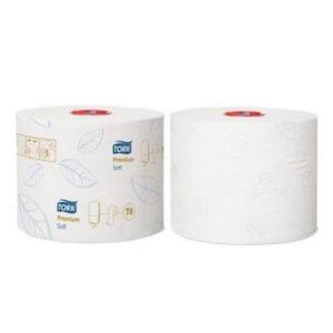 Papier toilette TORK PREMIUM COMPACT ROLL SOFT