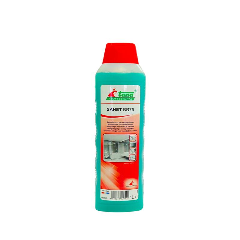SANET BR75 1L nettoyant sanitaire anticalcaire