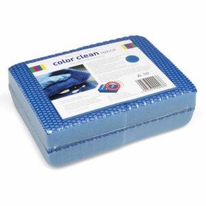 Sachet 4 x Éponge COLOR CLEAN Bleu