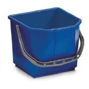 Seau pour chariot 15L bleu