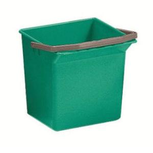 Seau pour chariot 6L vert