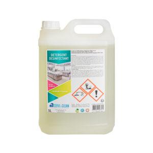 Detergent désinfectant