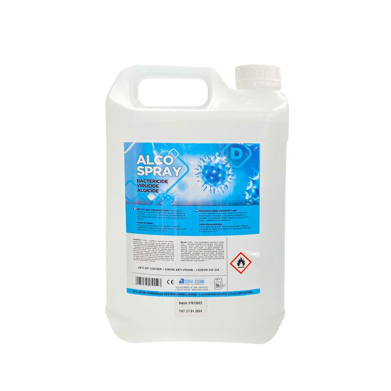 Alco Spray 1L Bactericide virucide algicide1 5L