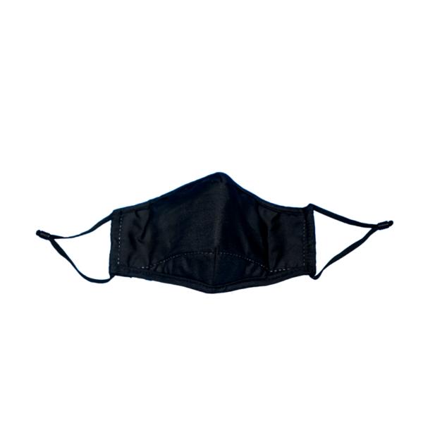 Masque tissu lavable noir