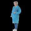 blouse plp non tisse 40 g bleue clair a pressions sans poche sans elastique