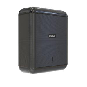 Distributeur de serviettes en papier ABS ECO LUXE noir